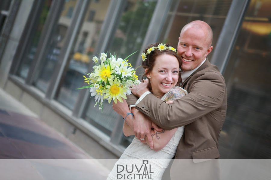 Cute Bride & Groom Formal | Phantom Canyon Wedding | Colorado Springs, CO