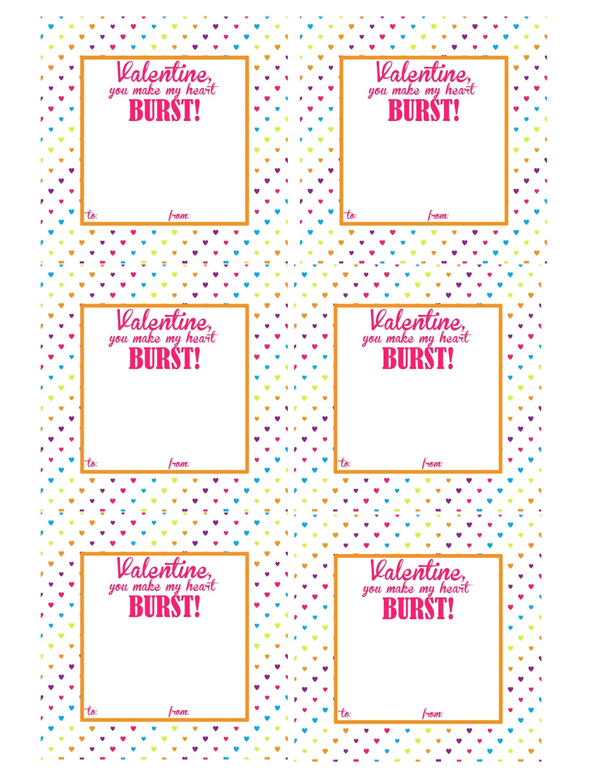 It's just a picture of Crafty Starburst Valentine Printable