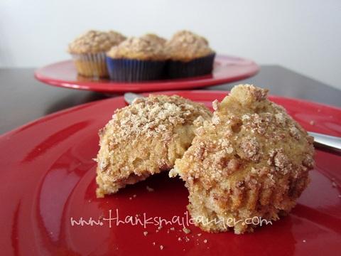 Cinnamon Toast Crunch muffins