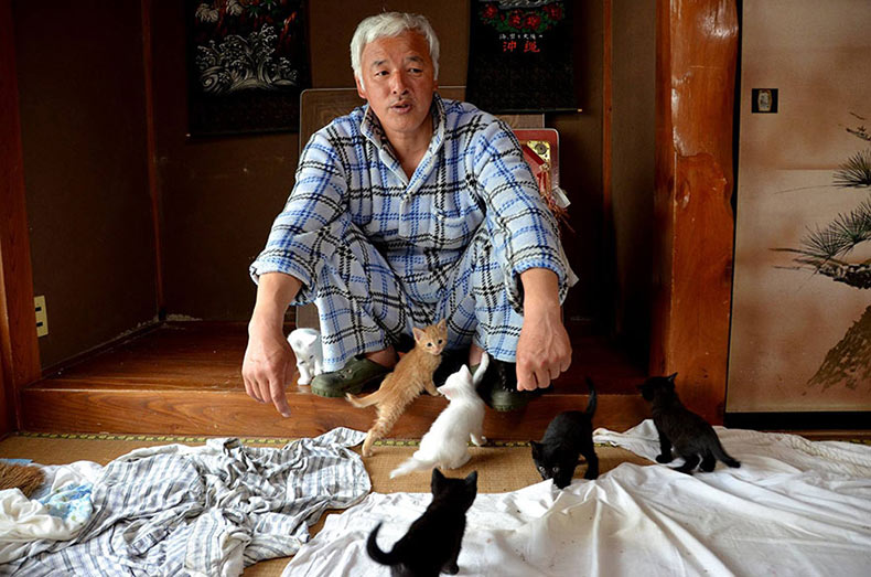 El Hombre Radioactivo que regresó a Fukushima para alimentar a los animales que todos los demás dejaron atrás