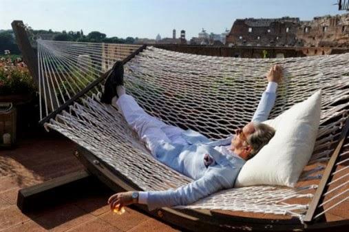 """Toni Servillo sous le soleil de Rome, dans La grande bellezza (""""La Grande Beauté"""") de Paolo Sorrentino - Cannes 2013"""