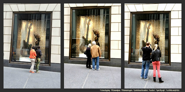 Fans of Just a Mannequin Sporting a Mohawk, #BGWindows, #NYC