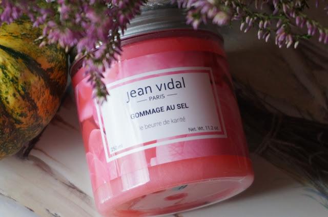 Peeling solny Jean Vidal - ujędrnienie i nawilżenie nie tylko ciała