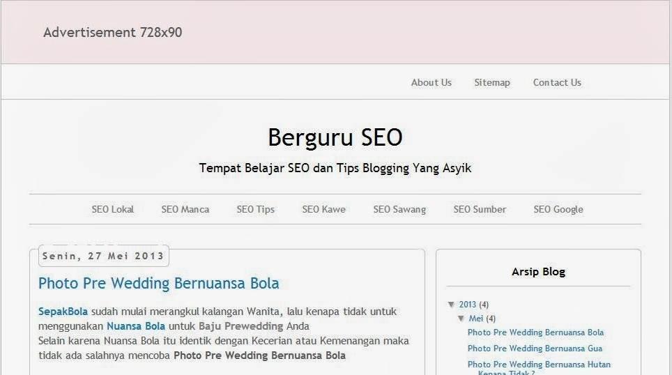 Cara Edit Template Blogger