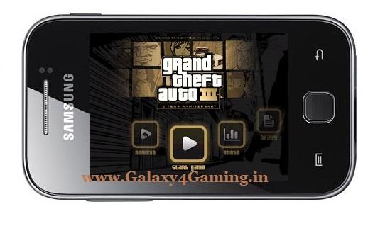 How to Play HD Games GTA 3,Temple Run on Galaxy Y