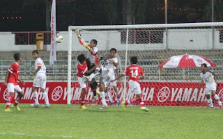 Dua Penalti, Indonesia-Malaysia Imbang