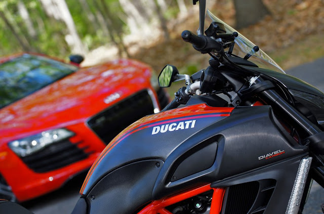 AUDI bought Ducati