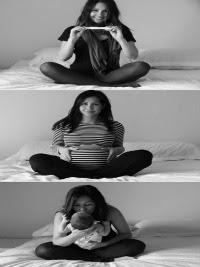 Footo criatiiva de gravidez