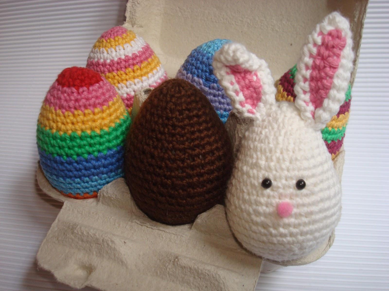 Conejo de Pascua y Huevos | Migote Amigurumi - Galeria