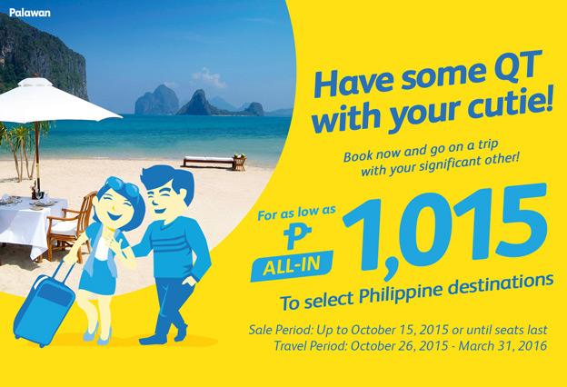 Cebu Pacific Promo Palawan 2015