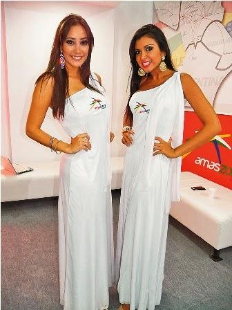 Bellezas en Exposur 2013 Tarija