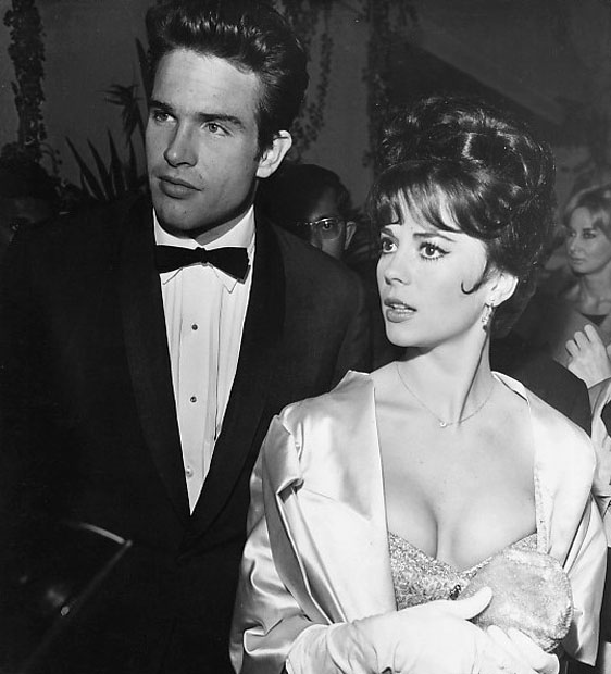 Festival de Cannes, con Warren Beatty (1962)