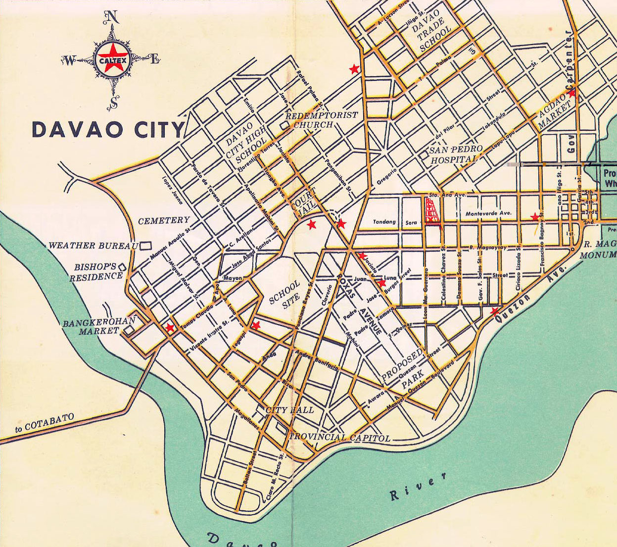 Make it davao more old photos of davao old map of davao city gumiabroncs Image collections