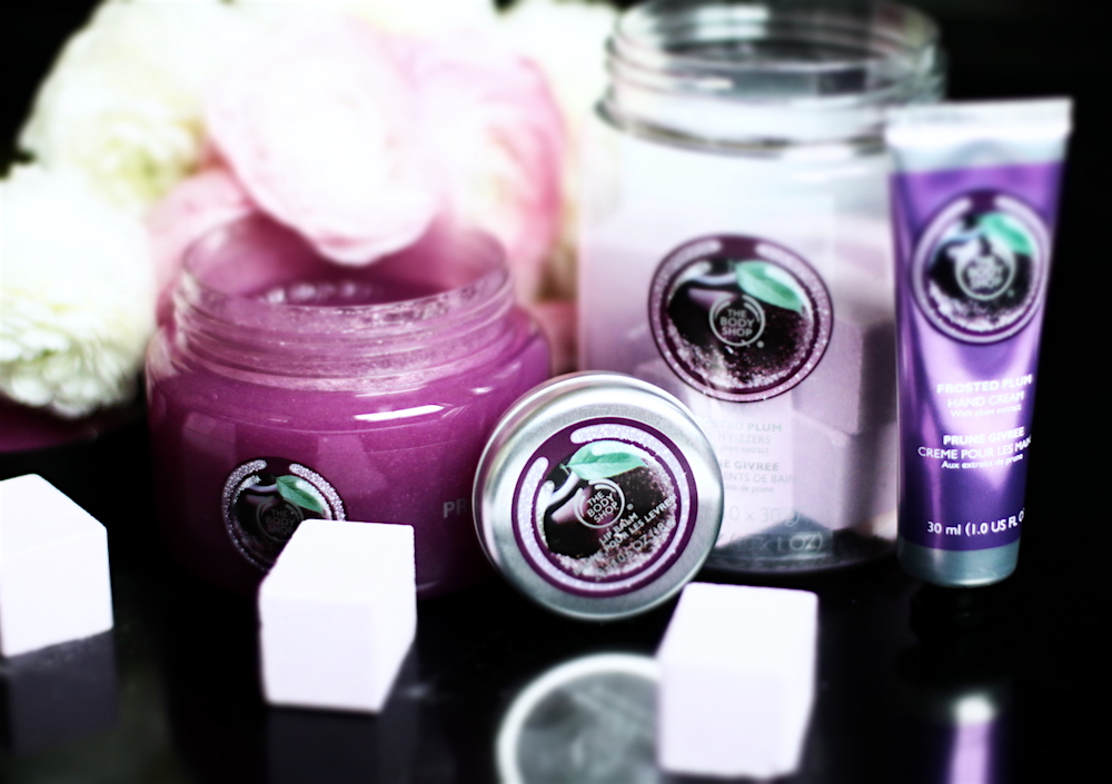 the body shop collection noel 2015 prune givrée avis test