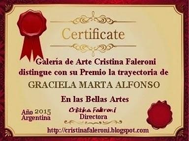 """Premio Galería Cristina Faleroni"""