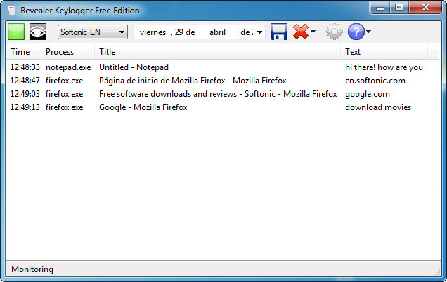 download revealer keylogger free edition