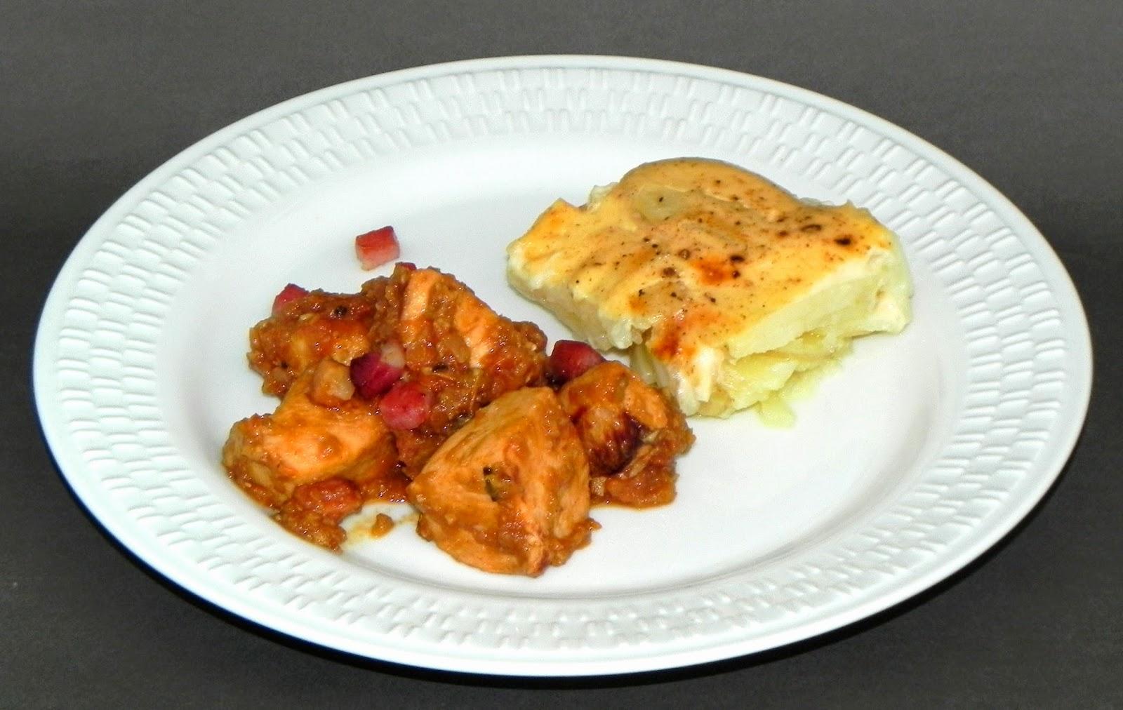 receita de frango com batatas