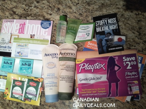Canadian Daily Deals Mail Call Free Stuff Simple Skincare