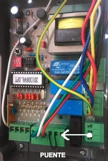 Noticias automateasy como conectar fotocelula de espejo con scor 600 - Como instalar un motor de puerta de garaje ...