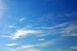 Wolkenschleier...