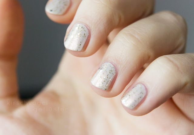 sally hansen for the thrill nail polish laquer winter manicure