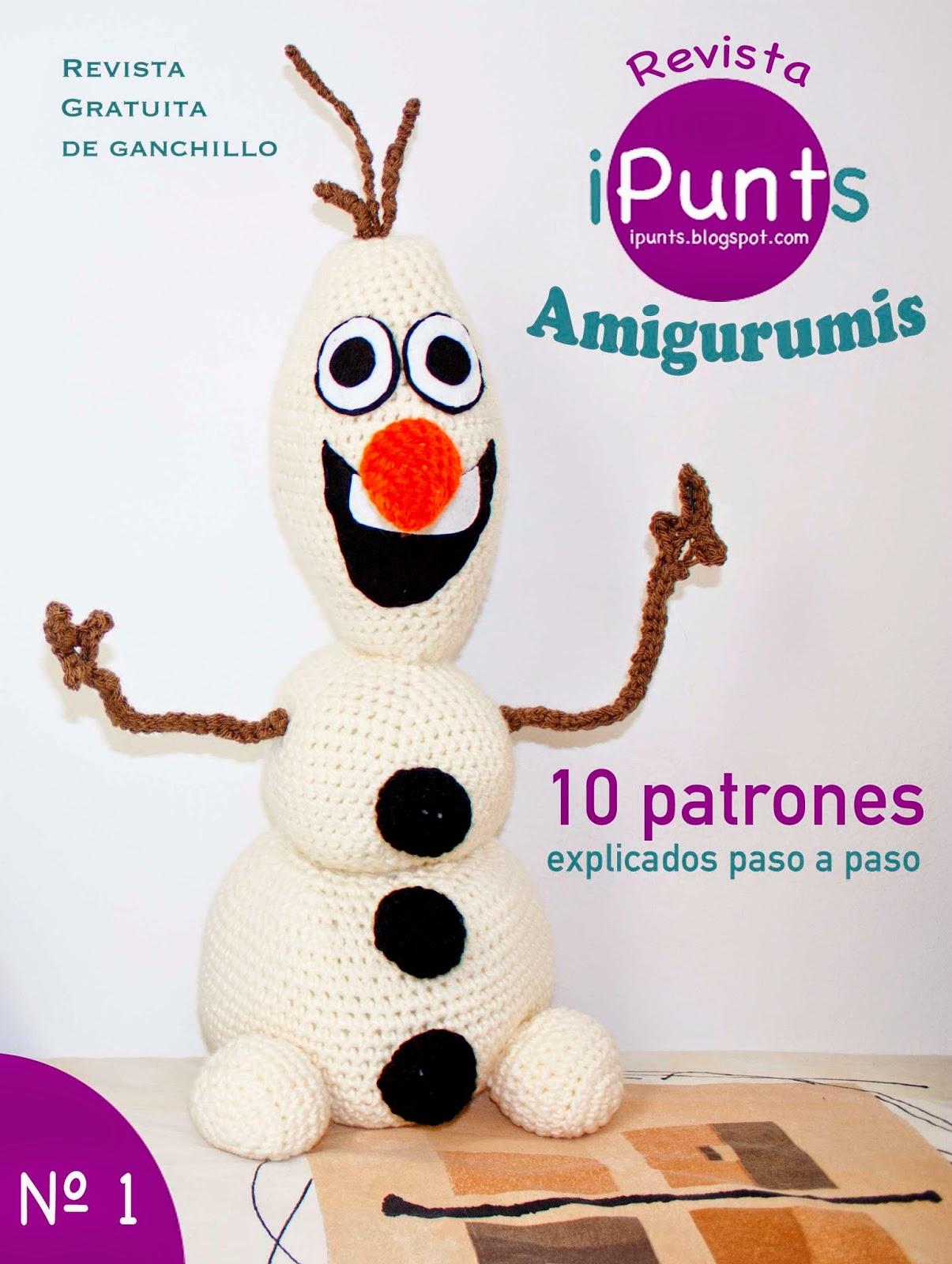 revista ipunts gratis patrones ganchillo crochet amigurumis