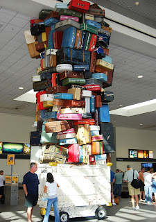 luggage, bagaje, aeroport, vacanta, pierdut, items