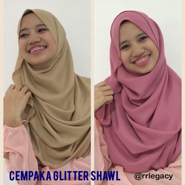 Cempaka Glitter Shawl by rrlegacy