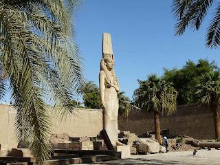Statue of Merytamun at Akhmim