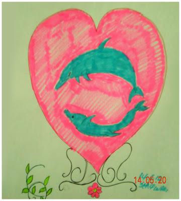Exairetico Blog Ζωγραφιά από το Δελφινάκι