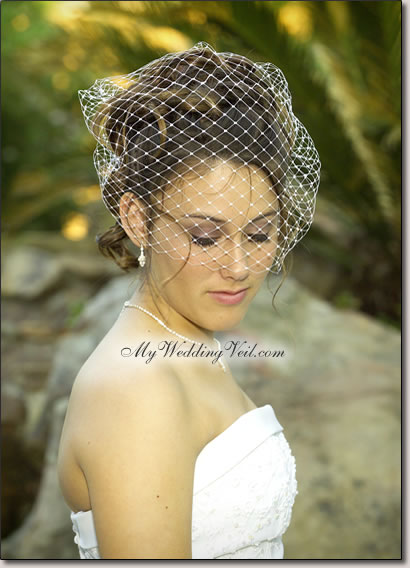 birdcage veil Images |Bridal Jewellery