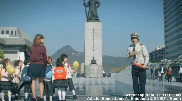 Admiral Yi Sun Shin Statue