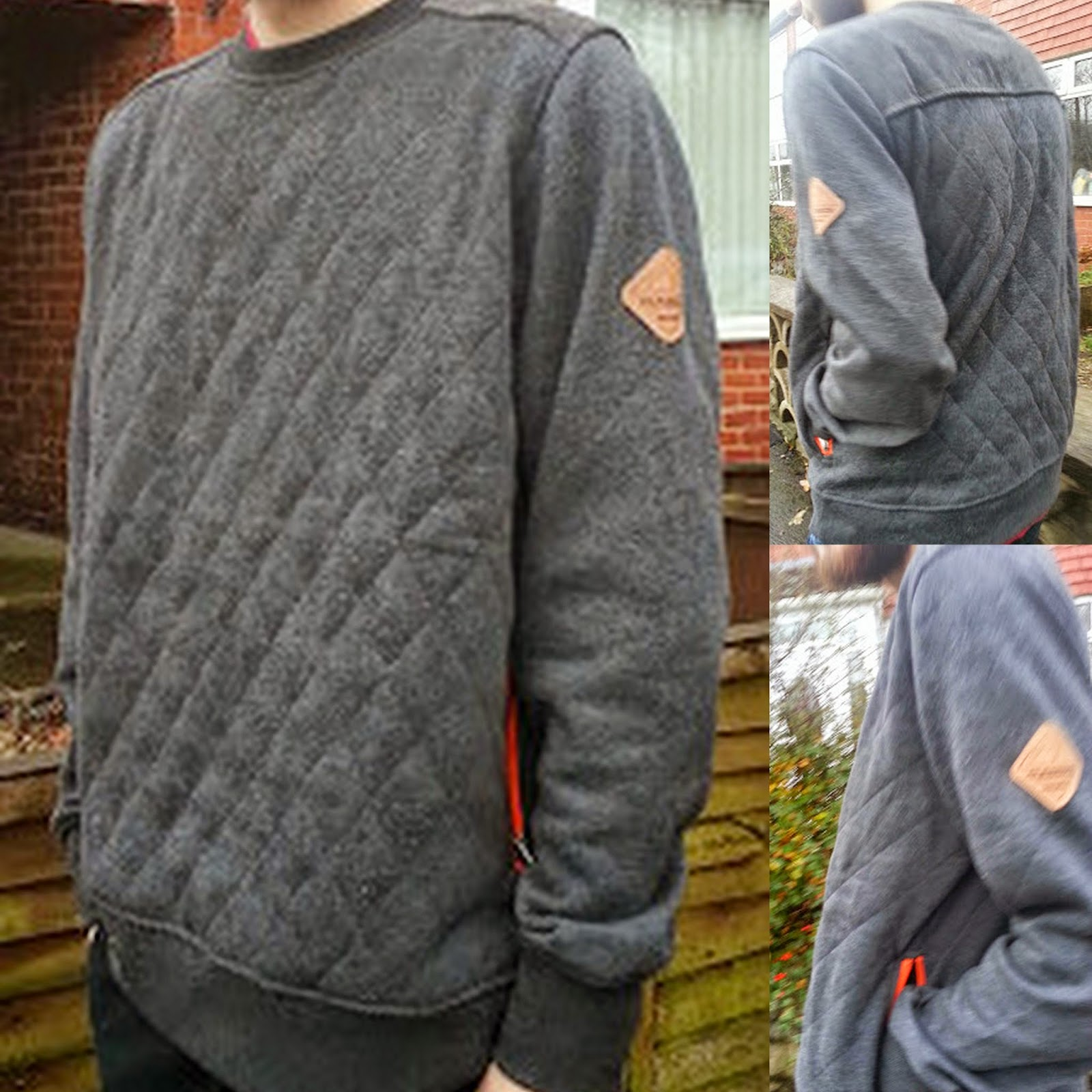 Scruffs Workwear quilted fleece on person