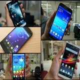Smartphones com Android Jelly Bean