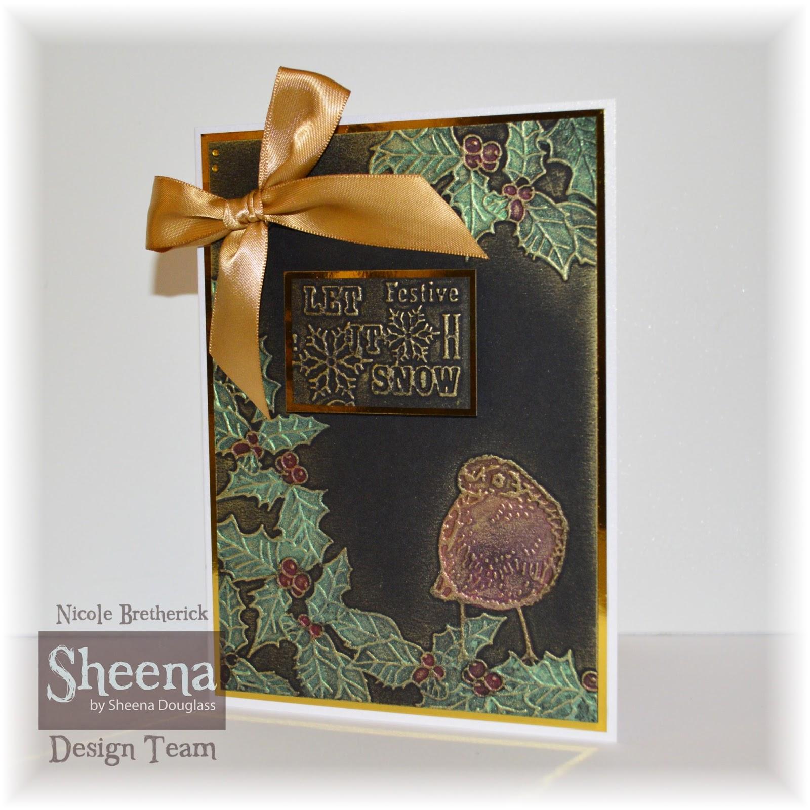 Nicole Bretherick Designs All My Christmas Sheena Makes