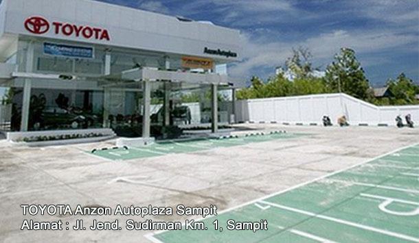 Mobil TOYOTA Anzon Autoplaza SAMPIT, Kalimantan Tengah