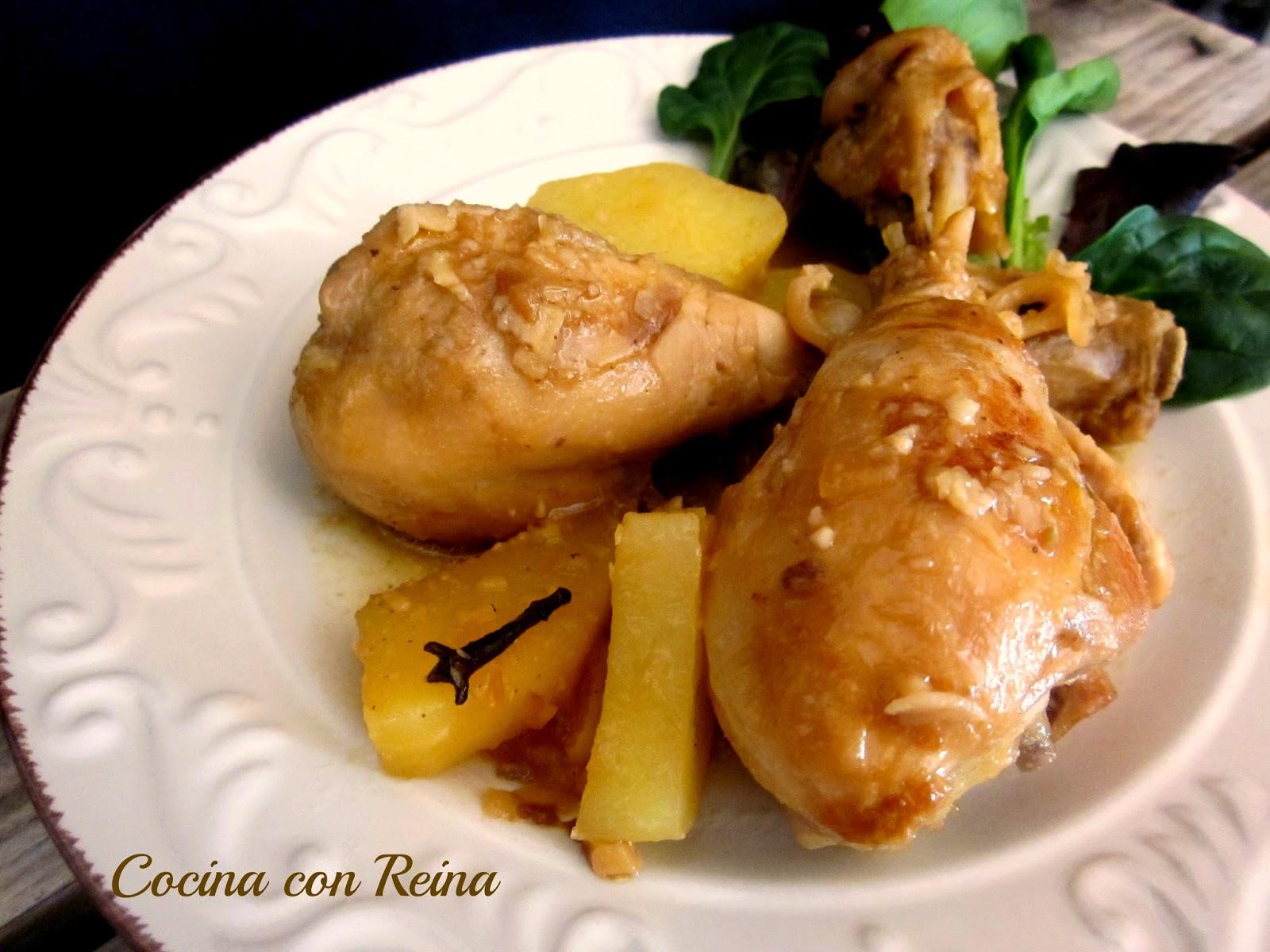 Muslitos de pollo a la naranja y cardamomo - Muslitos de pollo ...