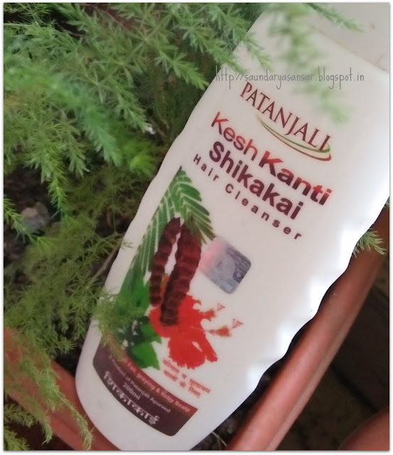 Patanjali-Kesh-Kanti-Shikakai-Hair-Cleanser-Review