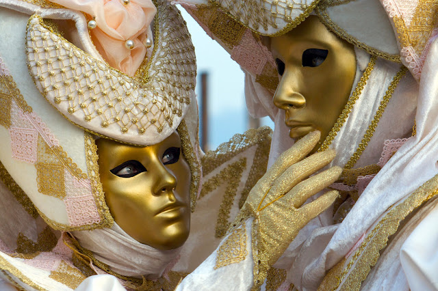Venetian Masks - first thing at the carnival