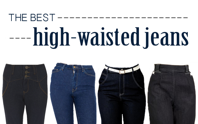 The best high-waisted jeans for vintage and pin-up style