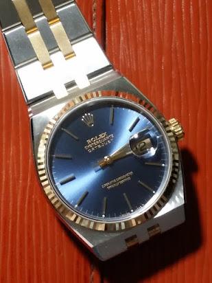 Rolex OQ DJ Ref 17013 blue