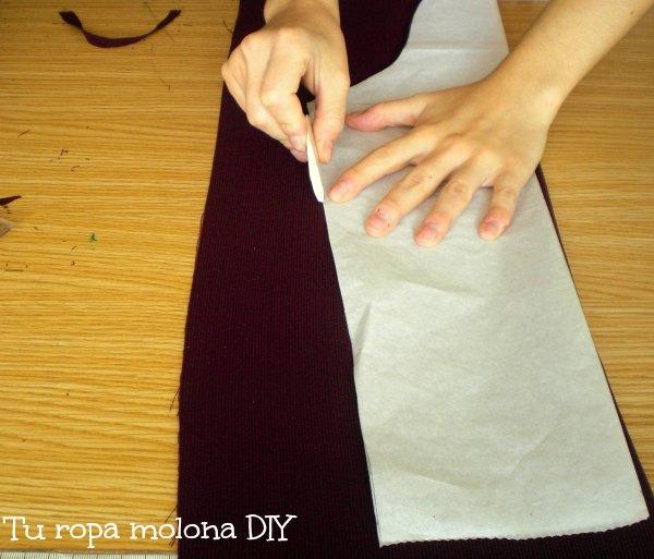 Hacer y coser las mangas