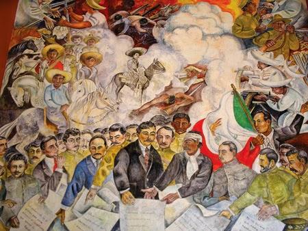 Viva aguascalientes murales de palacio de gobierno for Donde esta el mural de adan zapata