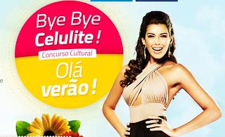 Concurso Cultural Bye Bye Celulite, Alô verão!