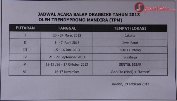 Info Balap Liar Cilacap - Beberapa waktu lalu beredar jadwal balap