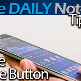 Samsung Galaxy Note 3 Tips & Tricks Ep. 55: Swipe Home Button, Improve Home Button for Better One Handed Operation