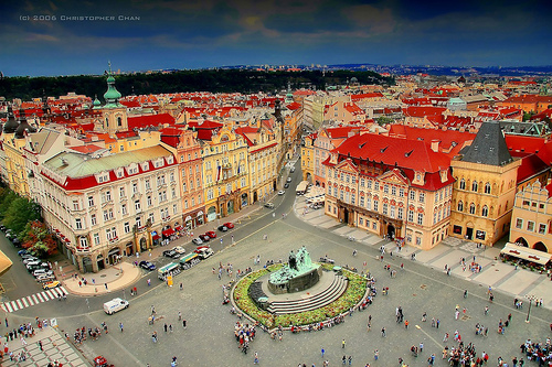 Prague city center