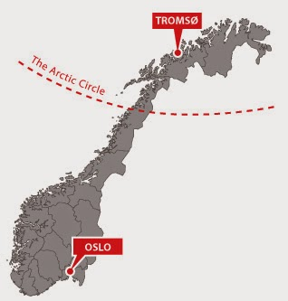 Common Misconceptions About The Arctic Snow In Tromso - Norway map tromso