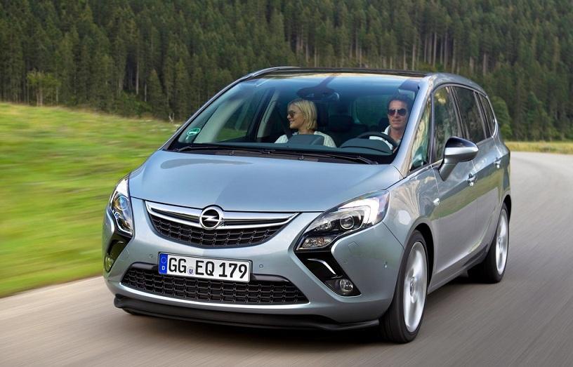 Opel divulga preço do novo Zafira Tourer 1.6 CDTI