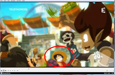 Luffy muncul di anime Wakfu season 2 episode 18